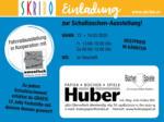 SKRIBO Schachtner Skribo Einladung zur Schultaschen-Ausstellung! 13.03. - 14.03. - bis 14.03.2020