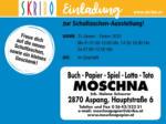 Skribo Skribo Einladung zur Schultaschen-Ausstellung! 31.01. - Ostern 2020 - bis 19.03.2020