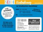 SKRIBO Schachtner Skribo Einladung zur Schultaschen-Ausstellung! 09.03. - 14.03. - bis 14.03.2020
