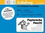 SKRIBO Aichinger Skribo Einladung zur Schultaschen-Ausstellung! 27.02. - 28.02. - bis 28.02.2020