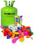 Möbelix Heliumgasflasche inkl. 50 Ballons Grün