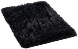 Teppich Plush ca. 60 x 90 cm schwarz