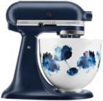 Expert Terler KitchenAid Artisan 5KSM156WCEIB Küchenmaschine mit Watercolor Flowers Keramikschüssel