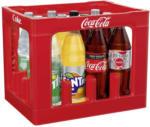 real Coca-Cola*, Fanta oder Sprite (*koffeinhaltig), versch. Sorten, 12 x 1 Liter, jeder Kasten - bis 22.02.2020
