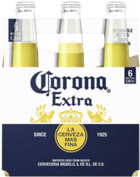 Corona Extra jede 6 x 0,355-Liter-Packung, ab 2 Packungen