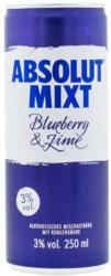 Absolut Vodka oder Malibu Pineapple Mix und weitere Sorten, 3%/ 10% Vol.,  jede 250-ml-Dose