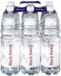 Black Forest Mineralwasser versch. Sorten, jede 6 x 1-Liter-Packung