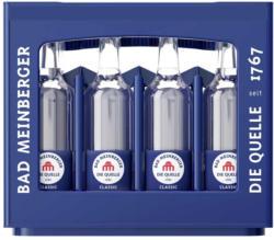 Bad Meinberger Mineralwasser 12 x 0,75 Liter, jeder Kasten