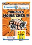 E. Leclerc Toujours moins cher !!! - au 22.02.2020