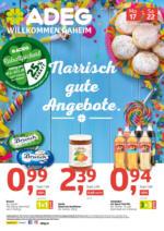 ADEG Flugblatt 17.02. bis 22.02. Nahversorger Steiermark