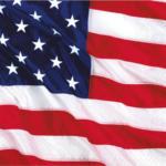 "PAGRO DISKONT Servietten ""USA"" 16 Stück 33x33 cm"
