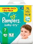 dm-drogerie markt Pampers Windeln Baby Dry, Größe 7 Extra Large, 15+kg, Doppelpack