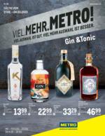 METRO Flugblatt - Gin & Tonic - 27.2. bis 4.3.