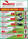 hagebaumarkt Niederer Hagebaumarkt Niederer - Service-Aktion-Flugblatt - bis 04.04.2020