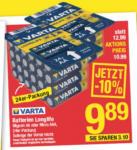 Maximarkt Varta Batterien Longlife - bis 23.02.2020