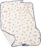 dm-drogerie markt ALANA Baby Decke, in Bio-Baumwolle, 90x80 cm, weiß, bunt, für Mädchen und Jungen