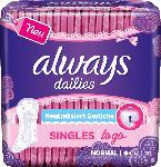 dm-drogerie markt always Slipeinlage Singles to go Geruchsneutralisierung