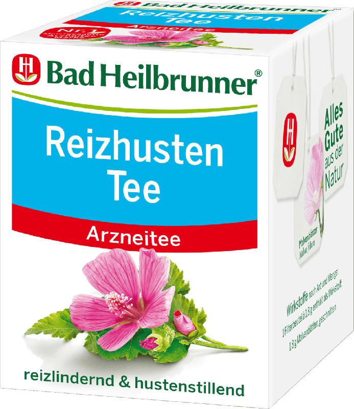 Bad Heilbrunner Arznei-Tee, Reizhusten (8x1,8g)