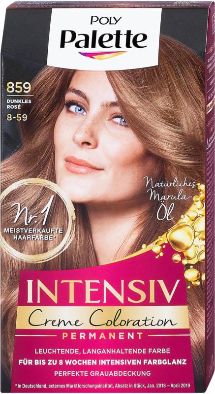 Poly Palette Intensiv-Creme-Coloration Permanenter - Nr. 859 Dunkles Rosé