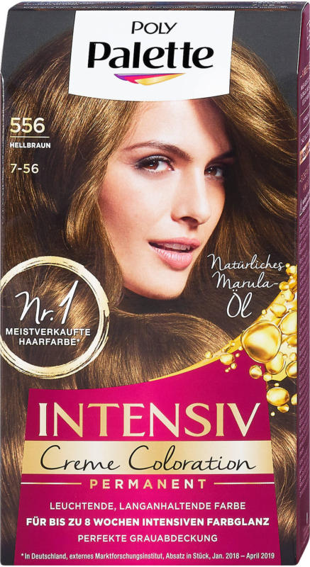 Poly Palette Intensiv-Creme-Coloration Permanenter - Nr. 556 Hellbraun