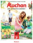 Auchan Quel bonheur de jardiner ! - au 15.03.2020