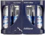 real Adelholzener Mineralwasser versch. Sorten, 12 x 1 Liter, jeder Kasten - bis 29.02.2020