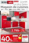 XXXLutz Le plus beau magasin de cuisines - bis 08.03.2020