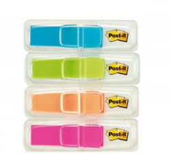 POST-IT Index Mini 11,9 x 43,2 mm 4 x 35 Blatt mehrere Farben