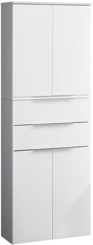 Hochschrank mit Soft-Close Kara White B: 61cm, Weiß