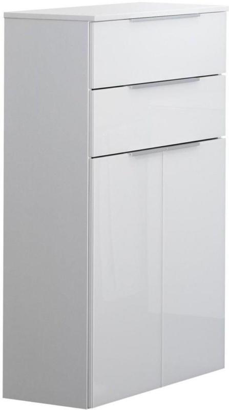 Midischrank mit Soft-Close Kara White B: 61cm, Weiß