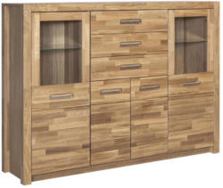 Highboard Fenja B: 163 cm Eiche