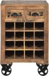 Möbelix Weinschrank Brion B: 55 cm Mangoholz