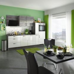 Einbauküche Küchenblock Möbelix Pn220/Pn100