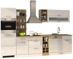 Einbauküche Küchenblock Möbelix Mailand Gsp B: 310 cm Weiß