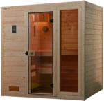 Möbelix Sauna Valida Plus Sparset mit Integr. Ofensteuerung