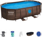 Möbelix Power Steel Pool Set Swim Vista Serie