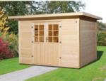 OBI Weka Holz-Gartenhaus Taro B Natur 295 cm x 240 cm inkl. Massivholzboden
