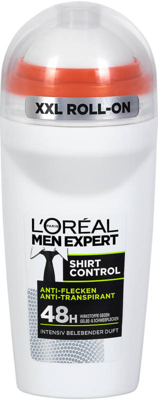 L'Oréal Men Expert Anti-Transpirant Deo Roll-On Shirt Control