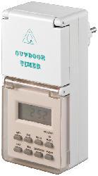 Zeitschaltuhr ZSU3000 digital, wetterfest, für den Außenbereich