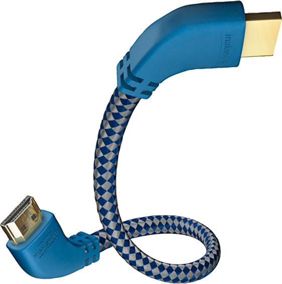 Premium II High Speed HDMI Kabel mit Ethernet und 90° Stecker 8 m