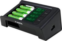 Ladegerät LCD SMART Charger inkl. 4x AA 2100 mAh