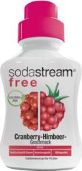 Getränkesirup Free Cranberry- Himbeere, 375 ml