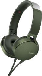 On-Ear Kopfhörer MDR-XB550AP mit EXTRA BASS, grün