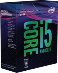 Core i5-8600K, 6x 3.6 GHz, boxed ohne Kühler (BX80684I58600K)