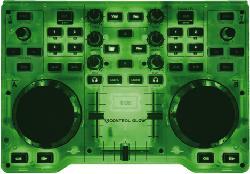 DJ Control Glow (LED-Leuchteffekt, DJUCED 18°, PC / Mac) 2-Deck
