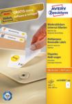 MediaMarkt Universal-Etiketten, 210 x 297 mm, 100 Bogen/100 Etiketten, weiß (L4735REV-100)