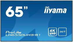Digital Signage Display PROLITE LH6550UHS-B1 mit 24/7 Betriebszeit 65 Zoll 4K UHD