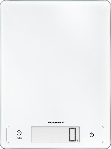Küchenwaage Page Profi 300 in Weiß