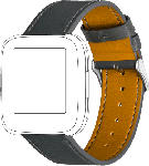 MediaMarkt Armband Fitbit Versa, Leather