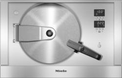 Druckdampfgarer mit Frisch- undAbwasseranschluss Edelstahl/CleanSteel DGD 7035
